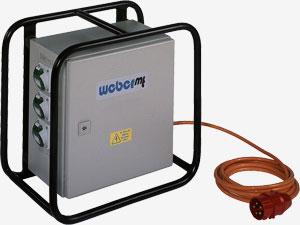 weber mt elektronischer umformer efu 5 6 zum anschlu an 400 volt 50 hz drehstrom. Black Bedroom Furniture Sets. Home Design Ideas